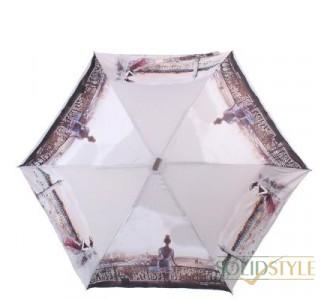 Зонт женский облегченный компактный механический  LAMBERTI (ЛАМБЕРТИ) Z73116-L1817A-0PB2
