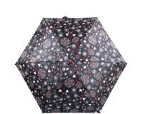 Зонт женский компактный облегченный механический  H.DUE.O (АШ.ДУЭ.О) HDUE-164-flowers