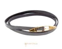 Ремень узкий женский кожаный ETERNO (ЭТЕРНО) A2005-9-grey