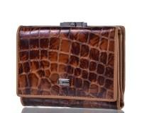 Кошелек женский кожаный WANLIMA (ВАНЛИМА) W81042670015-light-coffee