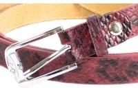 Женский узкий кожаный ремень MAYBIK (МЕЙБИК) D355576