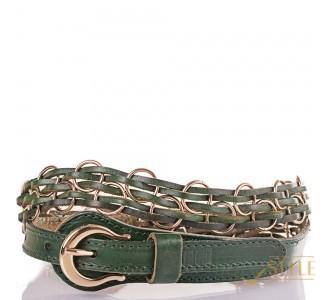 Женский плетёный кожаный ремень ETERNO (ЭТЕРНО) ETS278-4