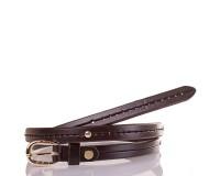 Женский узкий кожаный ремень ETERNO (ЭТЕРНО) ETS5072-10