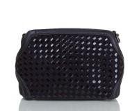 Женская сумка из качественного кожезаменителя  ANNA&LI (АННА И ЛИ) TU1229-2-black