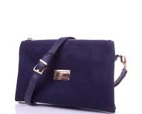 Женская сумка-клатч из экокожи и натуральной  замши EUROPE MOB (ЮЭРОП МОБ) EM2-006