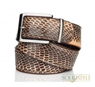 Ремень  кожаный мужской кобра  Kanz 06902817-14