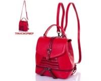 Женская кожаная сумка-рюкзак DESISAN (ДЕСИСАН) SHI573-4