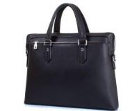 Мужская сумка из качественного кожезаменителя  с карманом для ноутбука с диагональю экрана  до 12,6