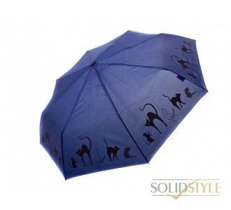 Зонт женский автомат DOPPLER (ДОППЛЕР) DOP7441465C-navy
