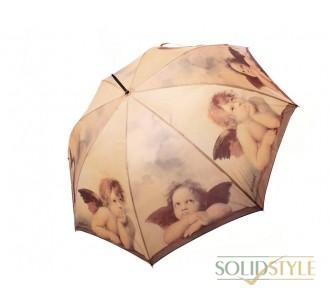 Зонт-трость женский полуавтомат DOPPLER (ДОППЛЕР) DOP74157R