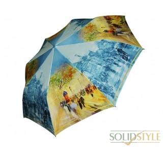 Зонт женский полуавтомат ZEST (ЗЕСТ) Z23625-6