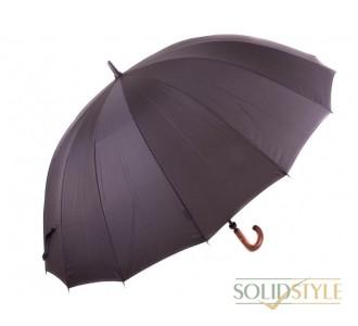 Зонт-трость мужской механический с большим  куполом ZEST (ЗЕСТ) Z41560