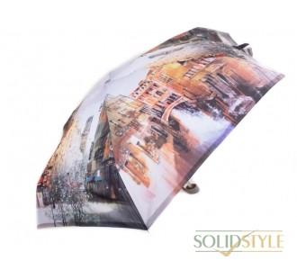 Зонт женский облегченный компактный механический  ZEST (ЗЕСТ) Z25515-7