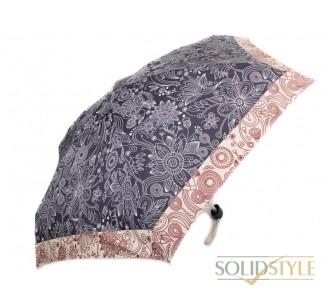 Зонт женский облегченный компактный механический  ZEST (ЗЕСТ) Z55516-2