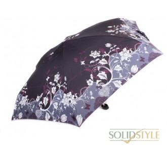 Зонт женский облегченный компактный механический  ZEST (ЗЕСТ) Z55516-3