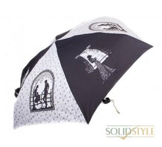 Зонт женский облегченный компактный механический  ZEST (ЗЕСТ) Z55516-8