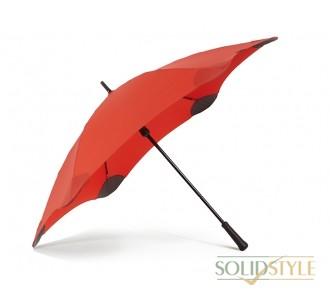 Противоштормовой зонт-трость женский механический  с большим куполом BLUNT (БЛАНТ) Bl-classic-red