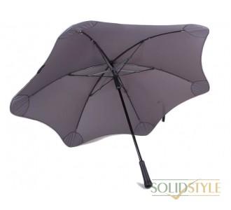 Противоштормовой зонт-трость мужской механический  с большим куполом BLUNT (БЛАНТ) Bl-classic-charcoal