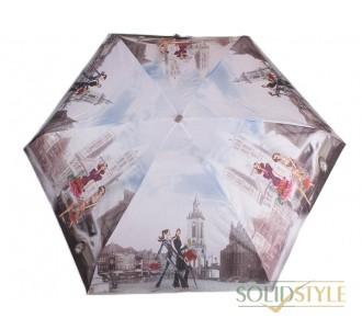 Зонт женский облегченный компактный механический  ZEST (ЗЕСТ) Z25515-13