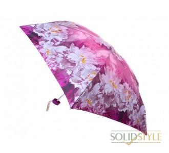 Зонт женский облегченный компактный механический  ZEST (ЗЕСТ) Z55516-11