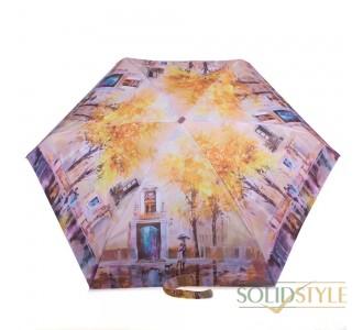 Зонт женский облегченный компактный механический  ZEST (ЗЕСТ) Z255155-67