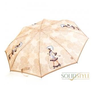Зонт женский полуавтомат ZEST (ЗЕСТ) Z53626B-11