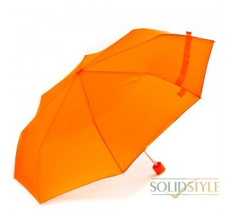 Зонт женский механический компактный облегченный  FARE (ФАРЕ) FARE5008-orange