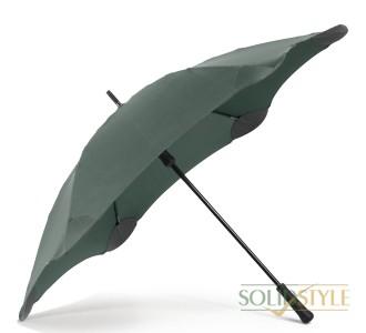Противоштормовой зонт-трость мужской механический  с большим куполом BLUNT (БЛАНТ) Bl-classic-forest-green