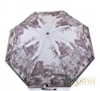 Зонт женский компактный полуавтомат ZEST  (ЗЕСТ) Z24665-7