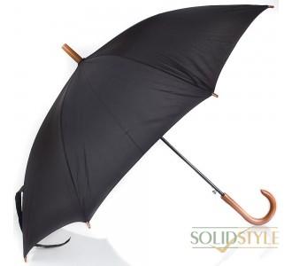 Зонт-трость мужской полуавтомат FARE (ФАРЕ) FARE1132-black