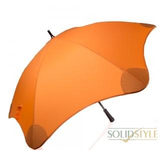 Противоштормовой зонт-трость женский механический  с большим куполом BLUNT (БЛАНТ) Bl-classic-orange