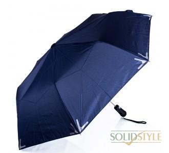 Зонт мужской полуавтомат с фонариком и  светоотражающими вставками FARE (ФАРЕ), серия