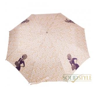 Зонт женский полуавтомат ZEST (ЗЕСТ) Z23629-11