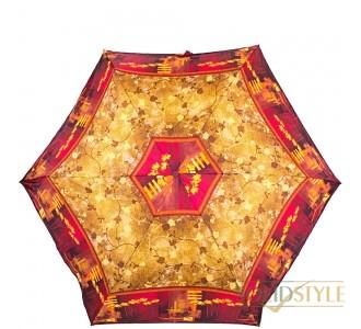 Зонт женский облегченный компактный механический  ZEST (ЗЕСТ) Z53568-4