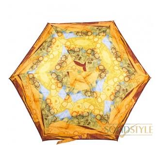 Зонт женский облегченный компактный механический  ZEST (ЗЕСТ) Z53568-12