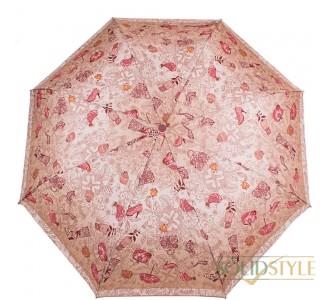 Зонт женский компактный механический ZEST  (ЗЕСТ) Z53516-2-12