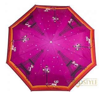 Зонт женский полуавтомат ZEST (ЗЕСТ) Z23626-2