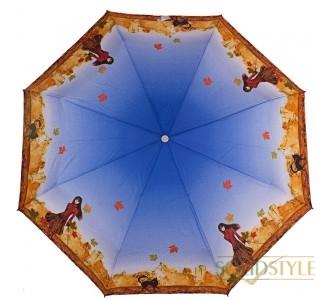 Зонт женский полуавтомат ZEST (ЗЕСТ) Z23626-4