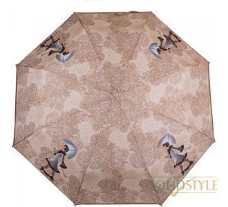 Зонт женский полуавтомат ZEST (ЗЕСТ) Z23626-10