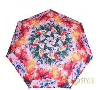 Зонт женский компактный облегченный HAPPY  RAIN (ХЕППИ РЭЙН) U80583-1