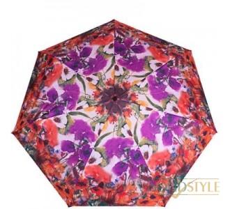 Зонт женский компактный облегченный HAPPY  RAIN (ХЕППИ РЭЙН) U80583-3