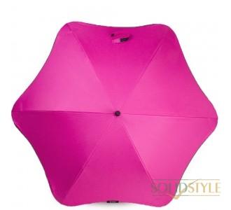 Противоштормовой зонт-трость женский механический  BLUNT (БЛАНТ) Bl-lite-plus-pink