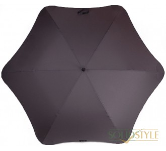 Противоштормовой зонт-трость мужской механический  с большим куполом BLUNT (БЛАНТ) Bl-xl-charcoal