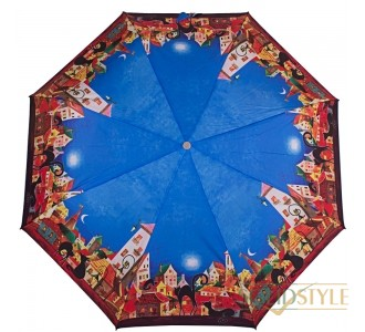 Зонт женский полуавтомат ZEST (ЗЕСТ) Z23626-11