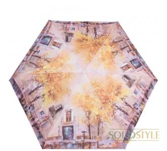 Зонт женский облегченный компактный механический  ZEST (ЗЕСТ) Z253625-9067