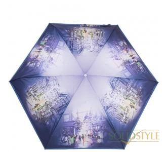 Зонт женский облегченный компактный механический  ZEST (ЗЕСТ) Z253625-1025