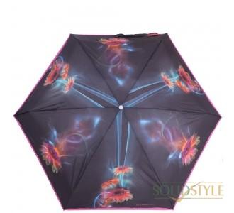 Зонт женский облегченный компактный механический  ZEST (ЗЕСТ) Z253625-1066