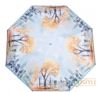 Зонт женский компактный механический ZEST  (ЗЕСТ) Z25525-9086