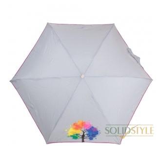 Зонт женский облегченный компактный механический  NEX (НЕКС) Z65511-4037B