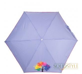 Зонт женский облегченный компактный механический  NEX (НЕКС) Z65511-4037A